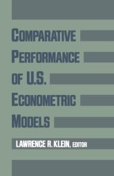 Comparative Performance of U.S. Econometric Models