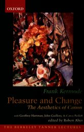 Pleasure and Change: The Aesthetics of Canon