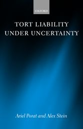 Tort Liability Under Uncertainty
