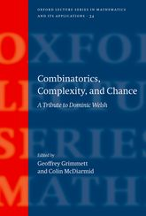 Combinatorics, Complexity, and Chance: A Tribute to Dominic Welsh