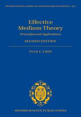 Effective Medium TheoryPrinciples and Applications