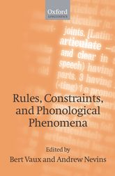 Rules, Constraints, and Phonological Phenomena