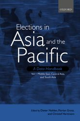Elections in Asia and the Pacific: A Data Handbook: Volume I: Middle East, Central Asia, and South Asia