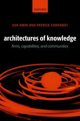 Architectures of KnowledgeFirms, Capabilities, and Communities
