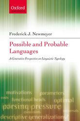 Possible and Probable Languages: A Generative Perspective on Linguistic Typology