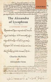 The Alexandra of LycophronA Literary Study