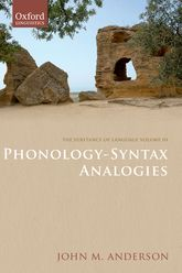 The Substance of Language Volume IIIPhonology-Syntax Analogies