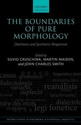 The Boundaries of Pure Morphology: Diachronic and Synchronic Perspectives