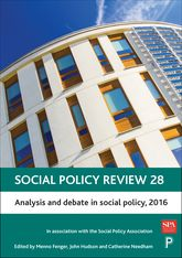 Social Policy Review 28Analysis and Debate in Social Policy, 2016
